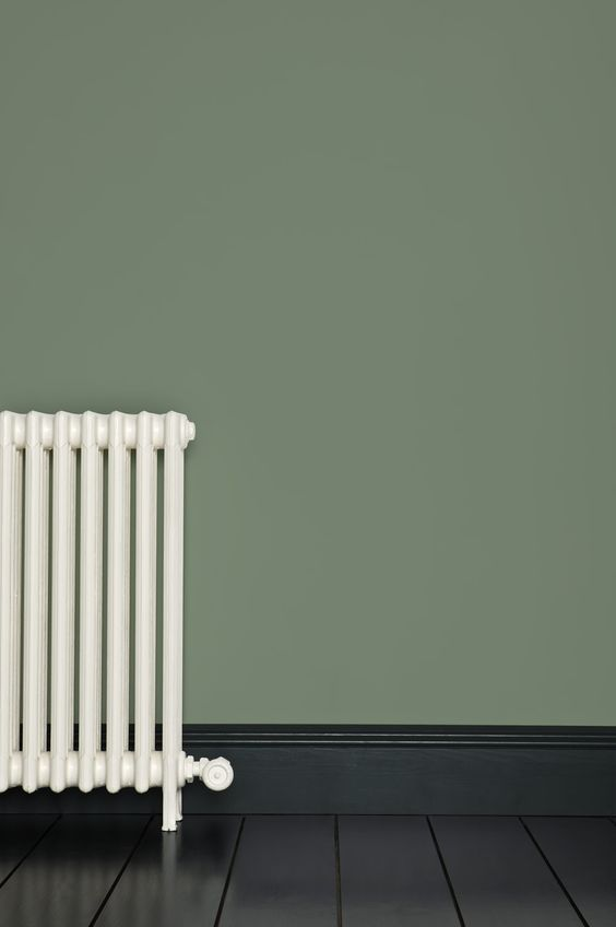 neutral green and modern age house painting