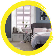 The perfect paint colours for a tranquil bedroom